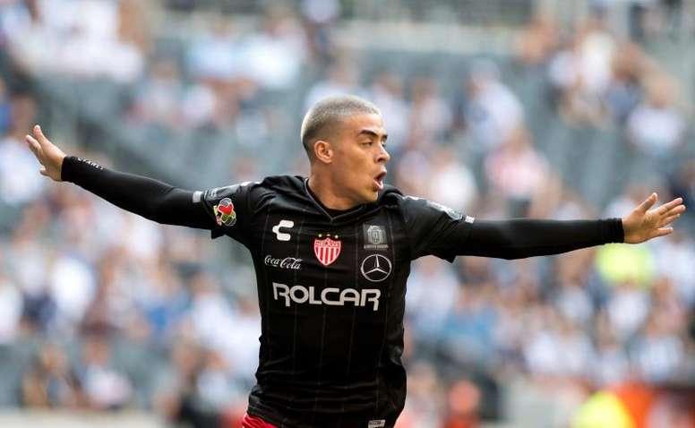 Brian Fernández debutó con gol en la MLS. EFE/Archivo