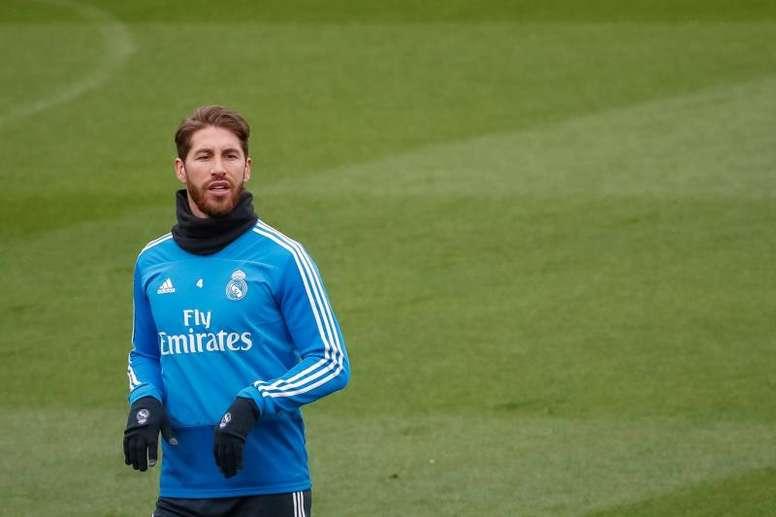 Ramos, a medio gas. EFE/Archivo
