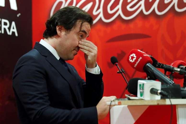 Presa confía en cerrar un acuerdo por Vallecas en las próximas semanas. EFE/Archivo