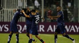 Victoria 6-0 de Universidad Católica ante Melgar. EFE