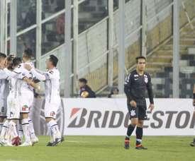 Colo Colo goleó a Audax Italiano en el Monumental. EFE/Archivo