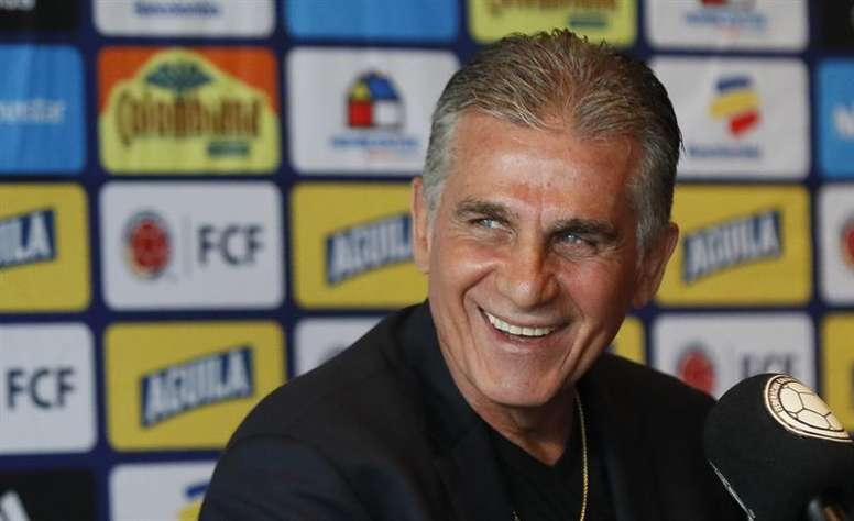 El XI probable de Colombia frente a Argentina. EFE