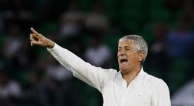 Setién dice adiós tras conquistar el Camp Nou y el Bernabéu. EFE/Archivo
