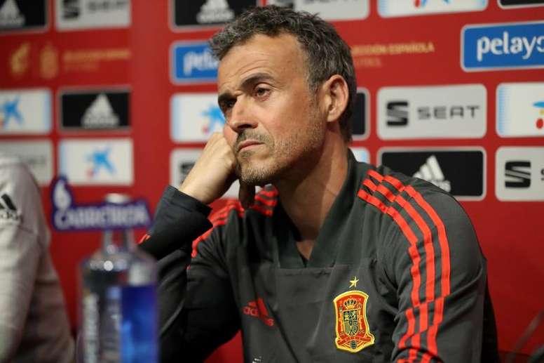 Luis Enrique n'est plus sélectionneur de 'La Roja'. EFE/Archive