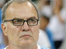 Bielsa's Leeds will face Girona in Manchester at the end of July. EFE/Archivo