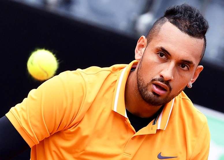 El tenista australiano Nick Kyrgios, en Roma. EFE