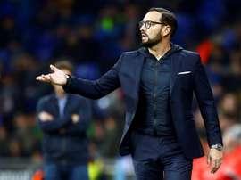 El técnico del Getafe analizó su continuidad en el club. EFE