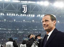 Os jogadores da Juventus despediram-se de Massimiliano Allegri. EFE