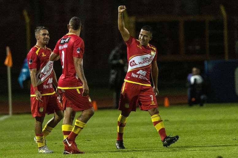 Sport Huancayo continúa en el liderato. EFE