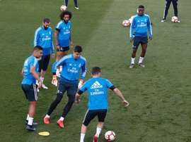 Courtois and Marcelo miss out on training! EFE