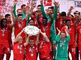 Bayern foi o último a confirmar o título. EFE