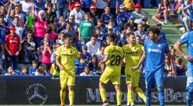 Gerard Moreno firma el mejor arranque goleador del Villarreal. EFE