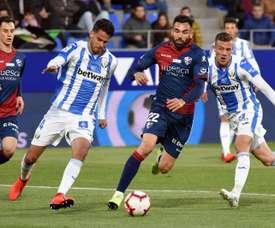 Enric est appelé à quitter Huesca. EFE