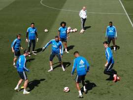 Rakitic and Modric make the Croatian team. EFE