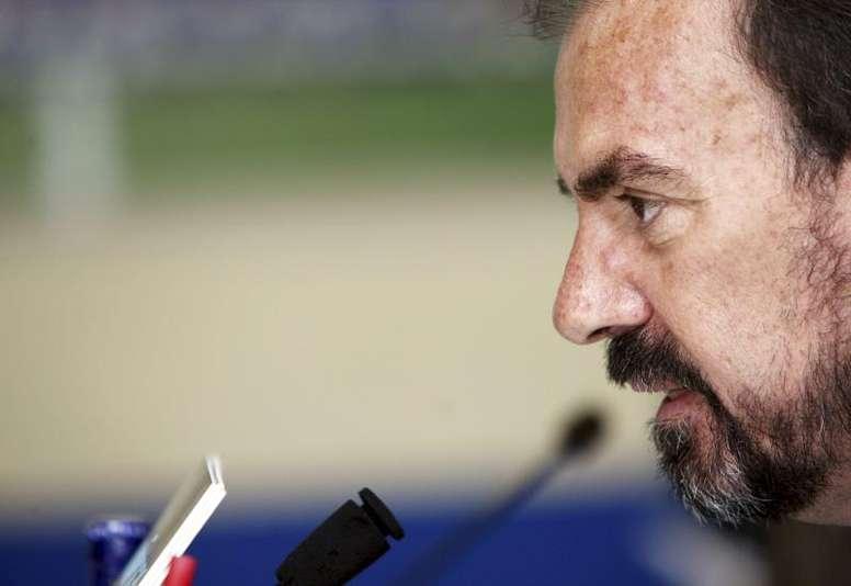El presidente del Getafe cargó contra los árbitros... y con razón. EFE