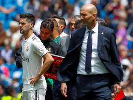 Real Madrid seem to be making less changes than expected. EFE