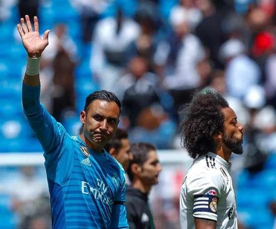 Keylor Navas sélectionné dans la pré-liste du Costa Rica. EFE