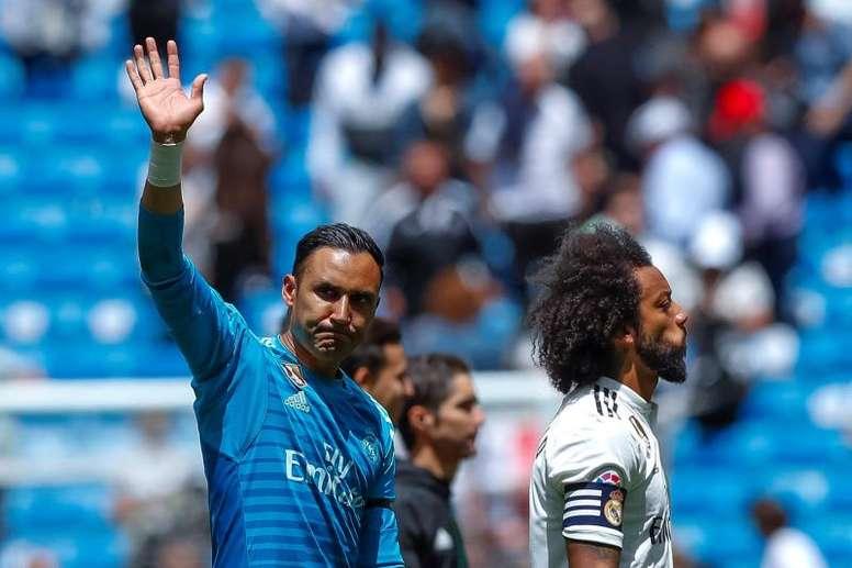 Marcelo a souligné son amour pour Madrid. EFE