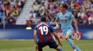 Filipe Luis pourrait atterrir à Wolverhampton. EFE