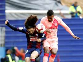 Semedo will have to spend the night in hospital in Bilbao. EFE