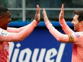 Le Barça est déterminé. EFE