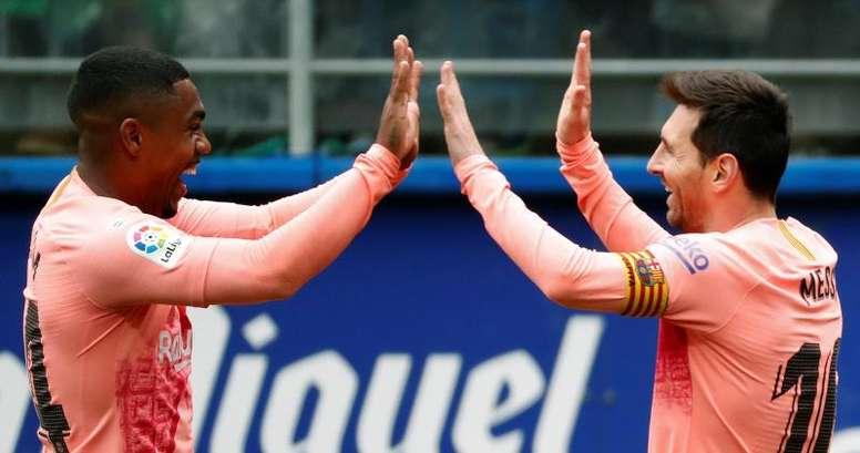 El Barcelona motivó a su afición con un sentido vídeo. EFE