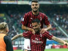 El Milan se aferra a la cuarta plaza. EFE