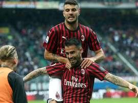 Suso teria se reunido como Milan para pressionar saída. EFE/EP