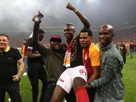 El Galatasaray venció al Istanbul Basaksehir y se proclamó campeón de Liga. EFE/EPA