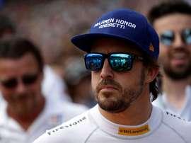 En la imagen el español Fernando Alonso. EFE/Archivo .