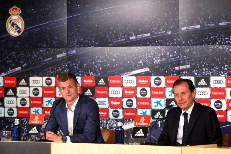 Kroos a fait le bilan de la saison. EFE