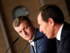 Kroos spoke about Jovic's signing. EFE