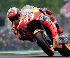 El piloto español de Moto GP, Marc Márquez este domingo. EFE