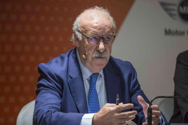 Del Bosque criticó a Isco y Asensio. EFE/Archivo