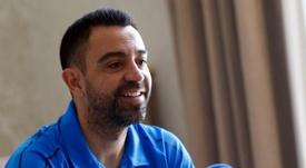 Xavi opinó sobre el juego del Barça. EFE