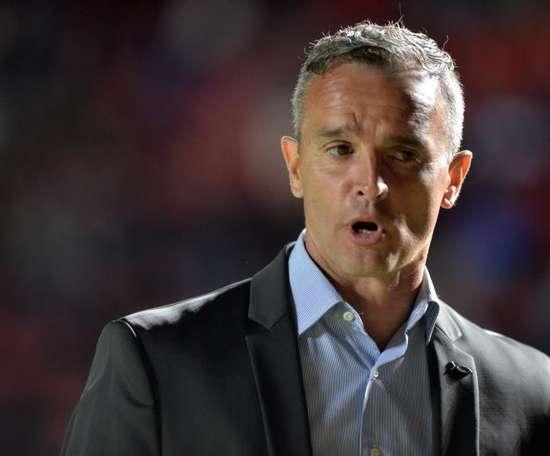 River Plate quiere dar otra sorpresa en la Sudamericana ante Colón. EFE