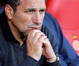 Eusebio n'est plus l'entraîneur de Gérone. EFE/Archive