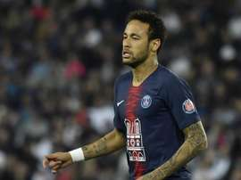 Neymar has not ruled out a move to Real Madrid. EFE/Archivo