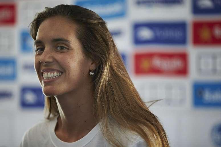 La nadadora española Ona Carbonell. EFE/Archivo