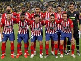 Os atletas de Diego Pablo Simeone retornarão ao trabalho em 4 de julho. EFE