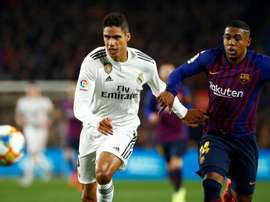 Varane analysed this season, bwhich as not been a doof one for his team. EFE