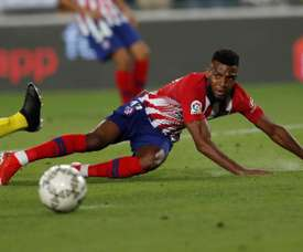 Thomas Lemar will stay at Atletico. EFE