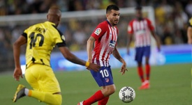 Correa pede para sair do Atlético de Madrid para ter mais protagonismo. EFE