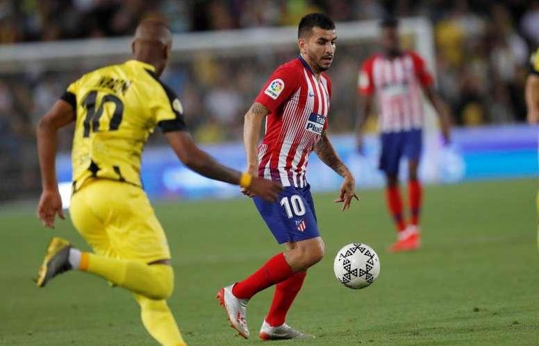 El Milan sueña con el fichaje de Correa. EFE