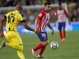 Correa va aller au Milan pour 50 millions d'euros plus bonus. EFE