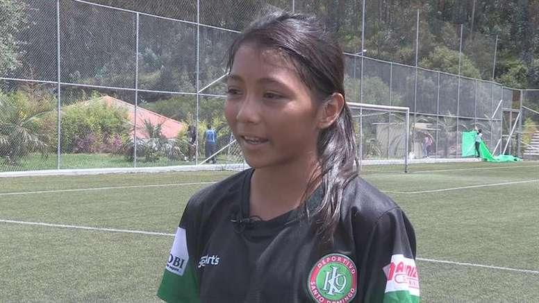 Reclaman el récord mundial: una ecuatoriana debuta en Primera ¡con 12 años! EFE