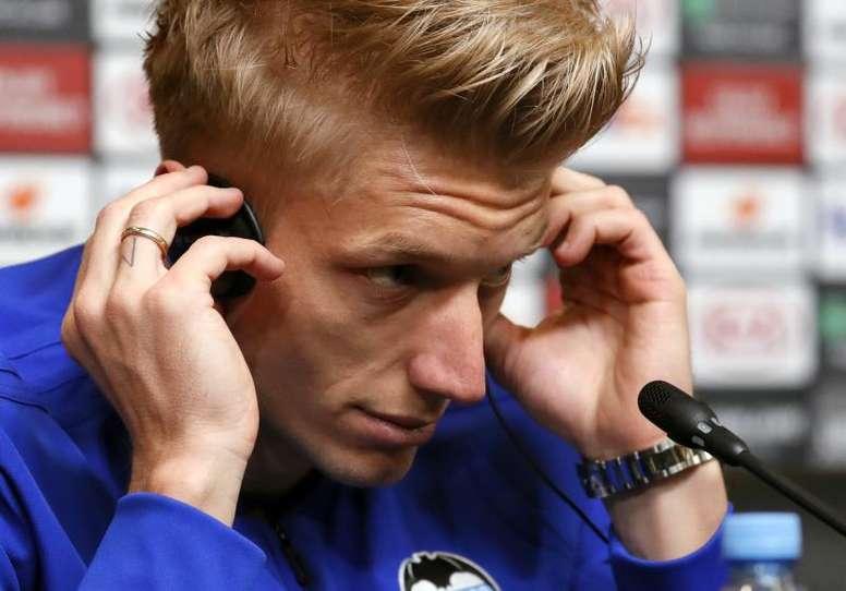 El danés habló de lo confiado que está el Valencia en las últimas semanas. EFE