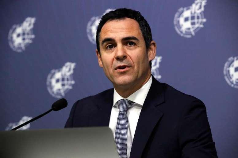 Velasco Carballo ha sido denunciado por Mediapro por el VAR. EFE/Archivo