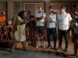 Bailes, suajili... así llegó el Sevilla a Tanzania, EFE