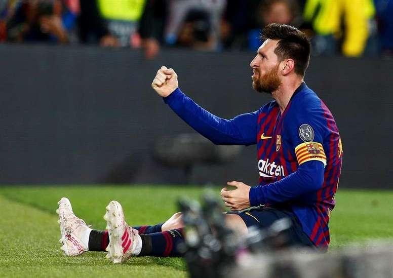 Leo Messi gana más finales de las que pierde. EFE